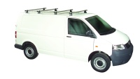 Rhino Delta 4 Bar System - VW Transporter T5 2002-2014 SWB (L1) Twin Rear Door - T54D-B44