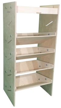 Plywood Van Shelving Power Tool Case Storage System 1087mm(H) x 500mm(W) x 384mm(D) - TC1